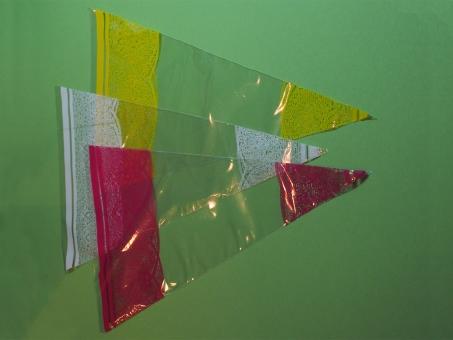 """Spitztüten, 180 x 370 mm, bedruckt 1-fbg """"pinkfarbene Spitze"""""""
